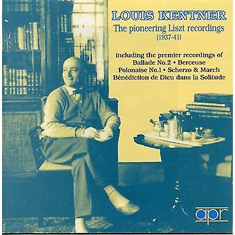 F. Liszt - The Pioneering Liszt Recordings [CD] USA import