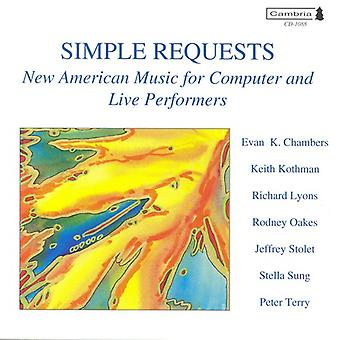 Simple Requests/Rothko-Tobey [CD] USA import