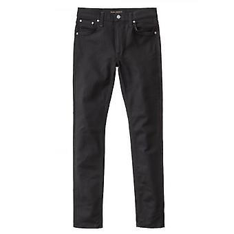 Nudie Jeans Lean Dean droge ooit zwart Jean