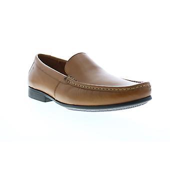 Clarks Claude Plain Herren braun Loafers & Slip Ons Mokassin Schuhe