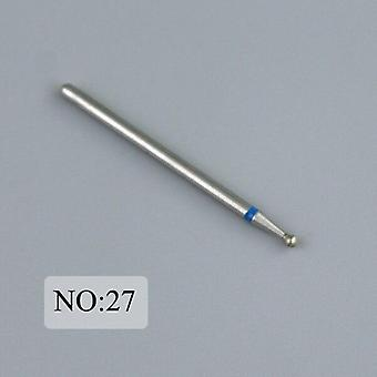 Silicon Diamond Nail Drill Bit Milling Cutter For Manicure Burr Cuticle Clean