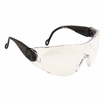 Portwest - Contoured Safety Spectacle Clear Regular