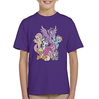 My Little Pony Spike And The Squad Kid's Camiseta