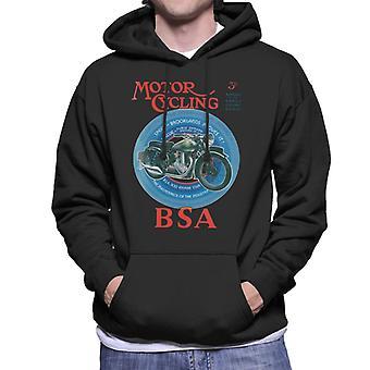 BSA Motor Cycling Empire Star Men's Hooded Sweatshirt