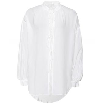 The Line Project Boho Tie Front Shirt