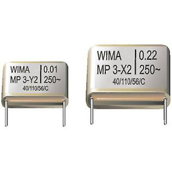 Wima MPX21W3150FH00MSSD-1 X2 suppression kondensator Radial bly 0,15 μF 275 V AC 20 % 1 pc(er)