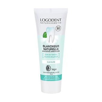 Toothpaste, Organic natural whiteness 75 ml