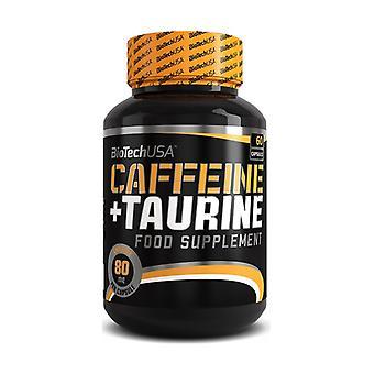Caféine & Taurine 60 capsules