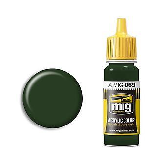 Ammo by Mig Acrylic Paint - A.MIG-0069 Blue Green (17ml)