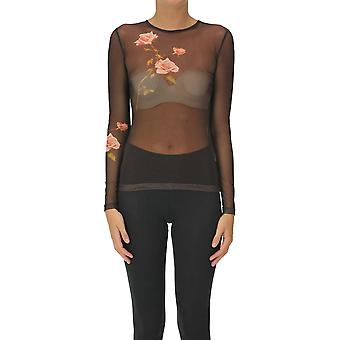 Dries Van Noten Ezgl093175 Dames's Brown Nylon Top