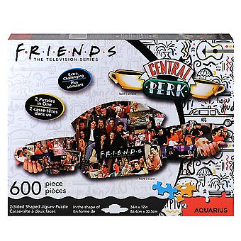 Friends Central Perk & Collage 600pc Double Sided Puzzle