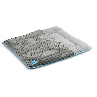 Ancol Malý Bite Flat Pad Přitulit pouzdro - modrá (60x54cm)