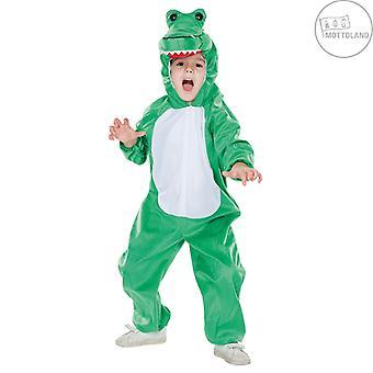 Dragon Kids Jumpsuit Kostume One-Piece Animal Costume Fairy Tale Carnival Dino Krybdyr