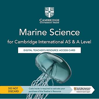 Cambridge International AS  A Level Marine Science Digital Teachers Resource Access Card by Brown & ClaireRoobottom & Paul