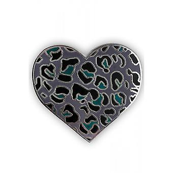 Fearless Illustration Ocelot Pin Badge