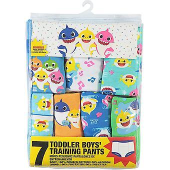 Baby Shark Boysă Toddler 7pk Potty Training Pant, 7-Pack, 2T, 7-pack, Dimensiune 2T