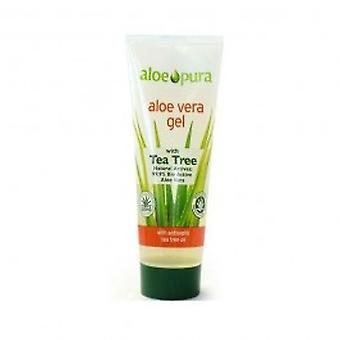 Aloe Pura - Aloe Vera Gel + Tea Tree 200ml