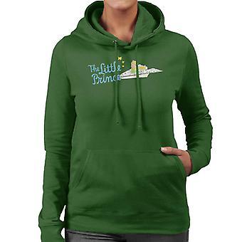 The Little Prince Paper Plane Women's Hooded Sweatshirt