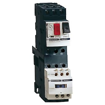 Schneider GV2ME10 3 Pole 6.3A 690Vac Thermal Magnetic Circuit Breaker