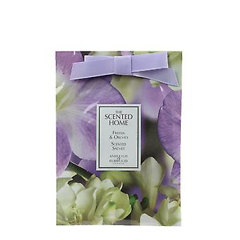 Freesia & Orchid Scented Sachet 20 by Ashleigh & Burwood