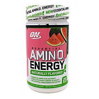 Optimum Nutrition Essential Amino Energy, Pastèque 25 Portions