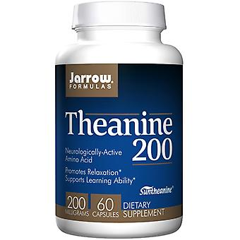 Jarrow Formulas Theanine, 200 Mg, 60 Caps