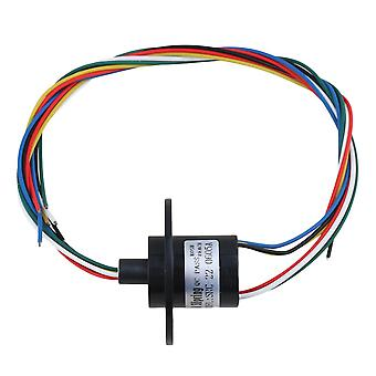 5A 240V 500rpm 6-way Conductors Circuits Slip Ring for Test Equipment