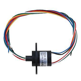 5A 240V 500 rpm 6-weg geleiders circuits slip ring voor testapparatuur