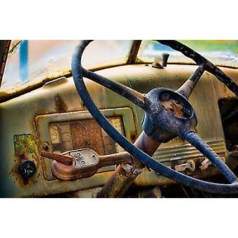 Vecchio camion IV Poster stampa di Kathy Mahan