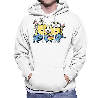 Despicable Me Minions Party Men's Hooded Sweatshirt