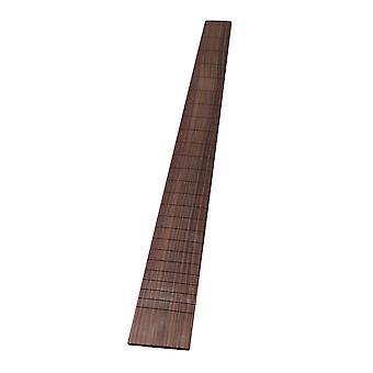 Rosewood Gitarr Tillbehör Gitarr Fingerboard 24 Fret för elgitarr