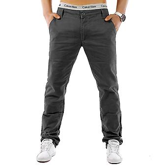 Menn & apos; s Chino bukser stil vanlig passform MC Trendstr elegant høy kvalitet jeans