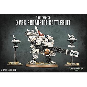 Tau Empire XV88 Broadside Battlesuit, Warhammer 40.000, 40k, Spel Workshop