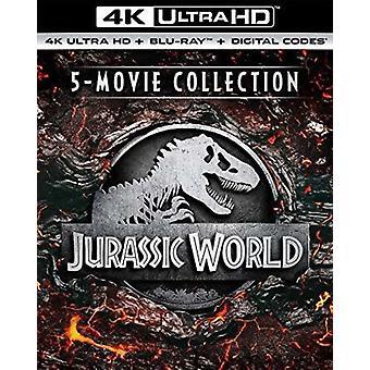 Jurassic World 5movie Collection [Blu-ray] USA import