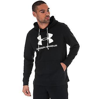 Men's Under Armour Sportstyle Terry Logo Hoody en noir