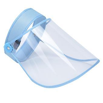 Transparent Réglable Cap Femmes Casque Plastique Anti-cracher Dustproof