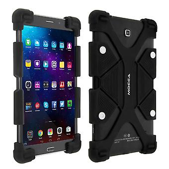 """Universal shock absorbing case for 9.7""""– 12"""" Tablets, with kickstand – Black"""