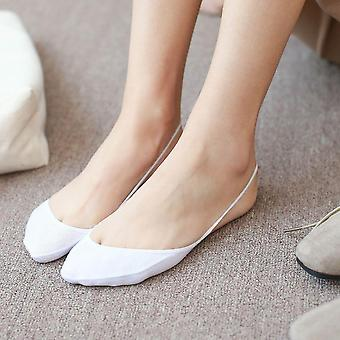 High Heels Invisible Socks, Fashion Women Slingback Toe Cover Topper No Show