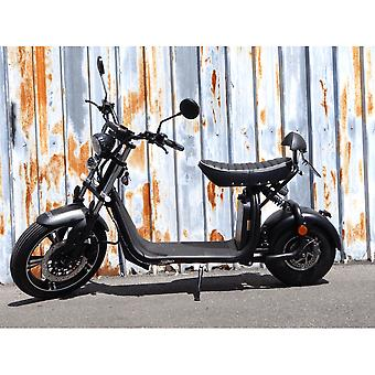 "Fatboy City Coco Smart E Electric Scooter Harley - 17 ""- 1500W - 20Ah - B Class - Black"