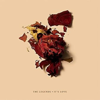 The Legends - Its Love [CD] USA import
