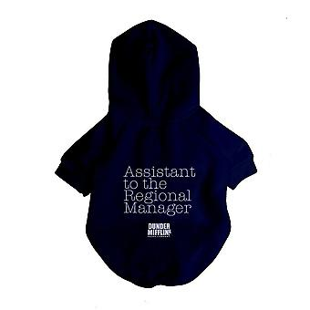The Office X Fresh Pawz - Assistant To Regional Manager Hoodie | Dog Clothing