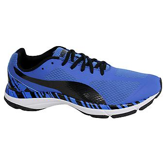 Puma Mobium Unify Mens Trainers Running Shoes Blue Lace Up 187540 01 D51