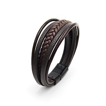 Multilayer Leather Bangles