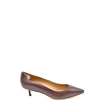 Tory Burch Ezbc074017 Women's Brown Leather Pumps
