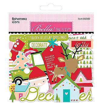 Bella BLVD Fa La La Ephemera Icons