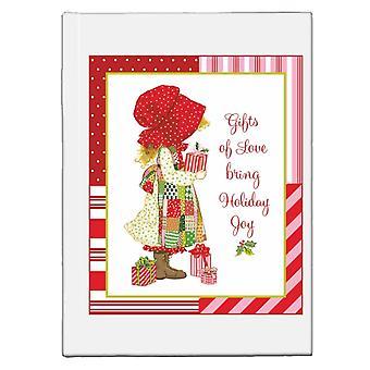 Holly Hobbie Christmas Gifts Of Love Bring Holiday Joy Hardback Journal