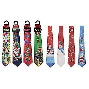 1 X musical christmas tie for adults - one pack sent at random