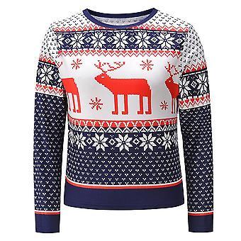 عيد الميلاد المرأة & apos;s sweatshirt- المرأة & apos;s Pullover قميص قمم عيد الميلاد بلوزة