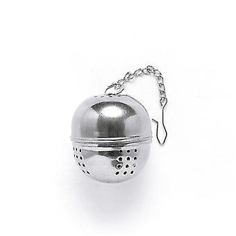 Rustfrit stål Ball Tea Infuser Mesh Filter Si