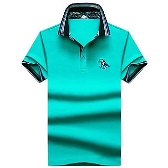 3d Embroidery Breathable Gym Polo Shirt